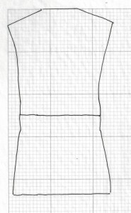 Fig. C  Tracing placed over the graph paper.